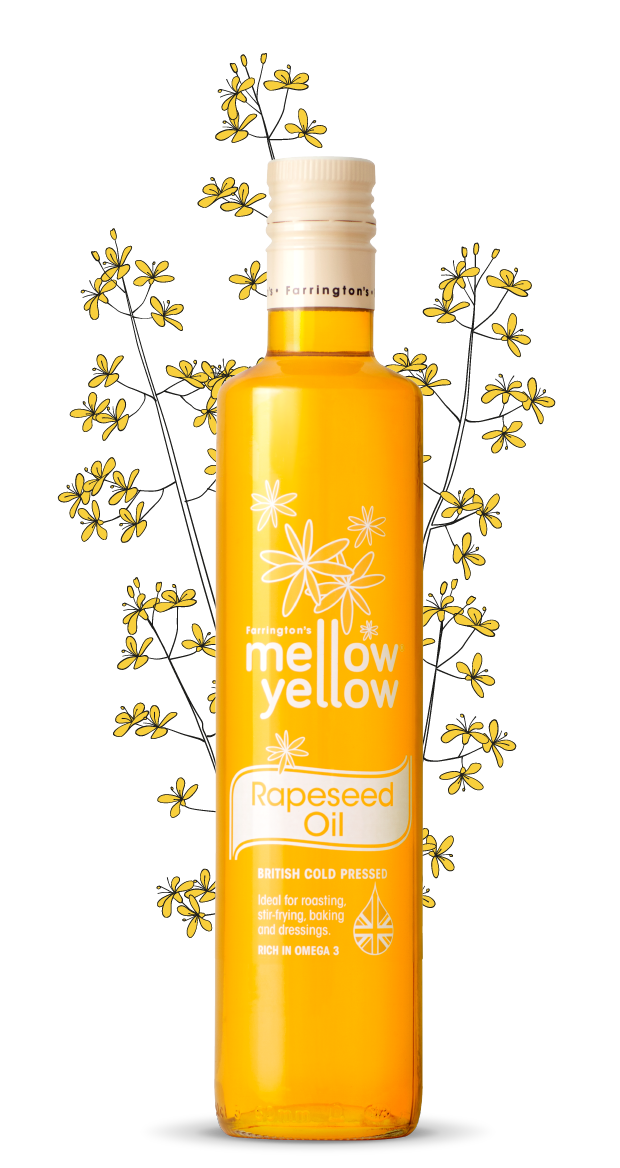 rapeseed oil farrington 39 s mellow yellow rapeseed oil. Black Bedroom Furniture Sets. Home Design Ideas