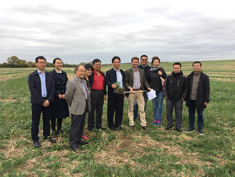 plough chinese delegation